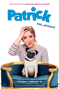 Patrick the Pug Poster