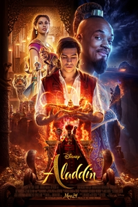 Aladdin in RealD Poster
