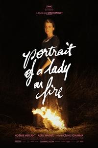 Portrait of a Lady on Fire (Portrait de la jeune fille en feu) Logo
