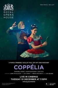 The Royal Opera House: Coppélia Logo