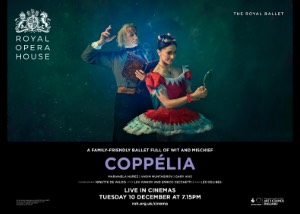 The Royal Opera House: Coppélia Poster