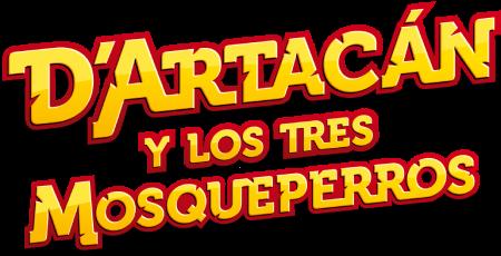 D'Artacán y los tres Mosqueperros Logo